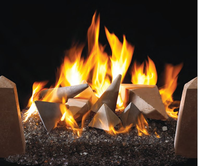 stone apple fireplace fire shapes san diego peterson real fyre